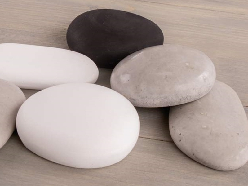 Steine aus Kreativ Beton