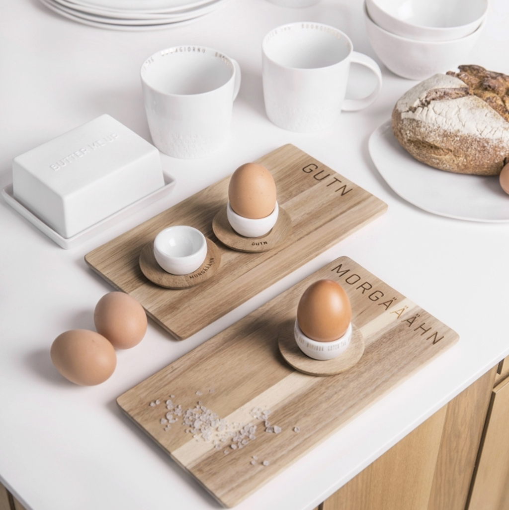 Frühstücksgedeck